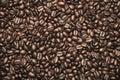 Coffee beans brown texture photo Stock Photos