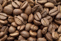 Coffee beans close up Stock Photos