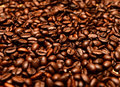 Coffee beans a close up of a pile of Stock Photos