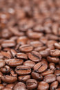 Coffee beans with copy space Stock Photography