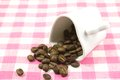 Coffee beans and cup Royalty Free Stock Photography