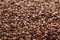 Coffee beans a group of clustered together Stock Image