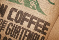 Coffee Beans Jute Sack Royalty Free Stock Photo