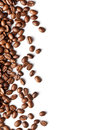Coffee beans pattern Stock Photography