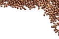 Coffee beans pattern Stock Photo