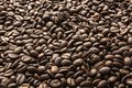 Coffee beans. Roasted coffee beans background