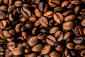 Coffee beans texture. Stock Photography