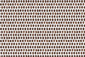 Coffee beans texture against the white background Stock Photos
