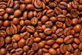 Coffee beans texture can be used a background Royalty Free Stock Photos