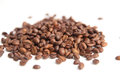 Coffee beans on white background Stock Image