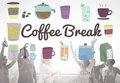 Coffee Break Beverage Pause Relaxation Casual Concept Royalty Free Stock Photo