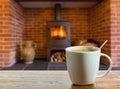 Coffee Break By Wood Burning F...