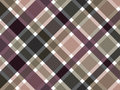 Coffee brown plaid pattern Stock Photos