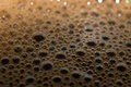 Coffee bubbles Royalty Free Stock Photo