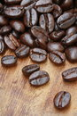 Coffee caffeine close up beans Royalty Free Stock Images