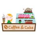 Coffee cake shop