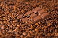 Coffee & chocolate Stock Image