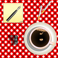 Coffee and cigarettes Royalty Free Stock Image