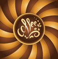 Coffee cup bean coffee music jazz Stock Images
