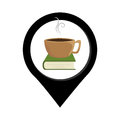 Coffee cup drink isolated icon
