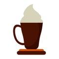coffee cup espresso cream