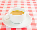 Coffee cup on the table Stock Photo