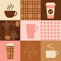 Coffee Design Elements Stock Photos