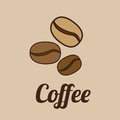 Coffee design over brown background vector illustration Stock Images