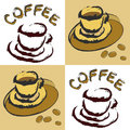 Coffee designs Royalty Free Stock Image