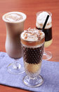 Coffee drinks Royalty Free Stock Photo