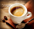 Coffee espresso cup of Royalty Free Stock Images