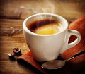 Coffee espresso cup of Royalty Free Stock Photography