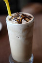 Coffee frappe in close up Royalty Free Stock Photography