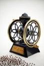 Coffee grinder vintage 3d Stock Image