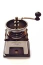 Coffee grinder on white background Stock Image
