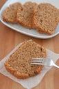 Coffee hazelnut cake home made Royalty Free Stock Image