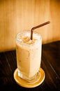 Coffee ice in the cafe Royalty Free Stock Photo