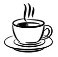 Coffee icon this is file of eps format Stock Image