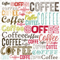 Coffee illustration of icons vector Royalty Free Stock Image