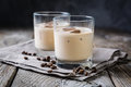 Coffee Liqueur In Glasses With...