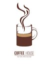 Coffee logo template Royalty Free Stock Photo