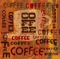 Coffee menu vintage design vector eps Stock Photos