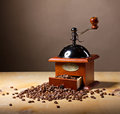 Coffee mill Stock Photo