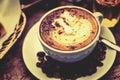 Coffee Mocha hot Royalty Free Stock Photo