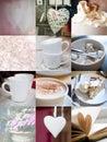 Coffee in my heart. Stock Photo