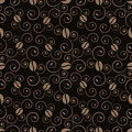 Coffee pattern Stock Image