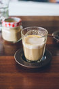 Coffee piccolo latte Royalty Free Stock Photo