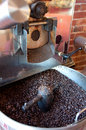 Coffee Roasting Machine Royalty Free Stock Image