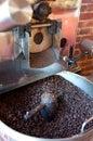 Coffee Roasting Machine Royalty Free Stock Photo