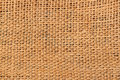Coffee sack texture Royalty Free Stock Photo